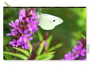 Butterfly And Bouquet Carry-all Pouch
