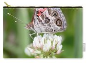 Butterfly And Bugs On Clover Carry-all Pouch