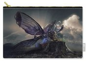 Butterfly And Caterpillar Carry-all Pouch