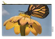 Butterfly And Flower Carry-all Pouch