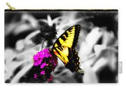 Butterfly And Lilac Carry-all Pouch