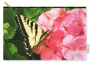 Butterfly And The Geranium Carry-all Pouch