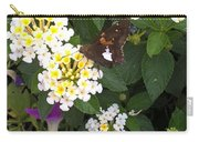 Butterfly And The Spider Carry-all Pouch