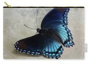 Butterfly Blue On Groovy Carry-all Pouch