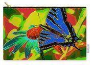 Butterfly Blues Carry-all Pouch