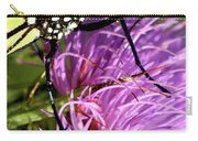 Butterfly Closeup Vertical Carry-all Pouch
