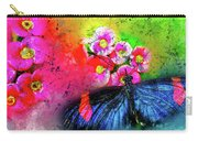 Butterfly Color Explosion Carry-all Pouch
