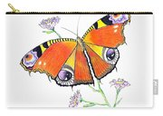 Butterfly Dressed For A Masquerade Ball Carry-all Pouch