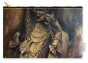 Butterfly Girl.  Carry-all Pouch