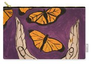 Butterfly Glory Carry-all Pouch