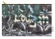 Butterfly Graffiti Carry-all Pouch