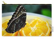 Butterfly Haven Citrus Carry-all Pouch