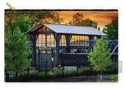 Butterfly House At Sunset Carry-all Pouch