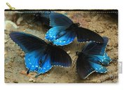 Butterfly Huddle At The Puddle Carry-all Pouch