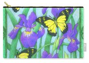 Butterfly Idyll-irises Carry-all Pouch