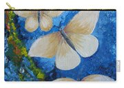 Butterfly In Blue 4 Carry-all Pouch
