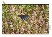 Butterfly In Clover Carry-all Pouch