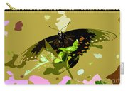 Butterfly In Color Carry-all Pouch