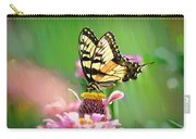 Butterfly In Summer Carry-all Pouch