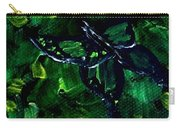 Butterfly In The Bush Carry-all Pouch