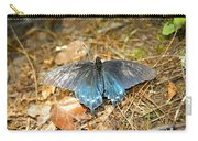 Butterfly In The Forest Carry-all Pouch