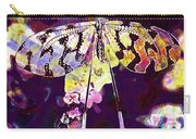 Butterfly Insect Black White  Carry-all Pouch