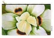 African Butterfly Iris Carry-all Pouch