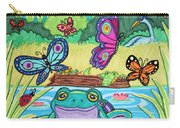 Butterfly Lake Carry-all Pouch