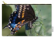 Butterfly Laying Eggs Carry-all Pouch