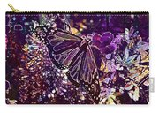 Butterfly Monarch Flower  Carry-all Pouch