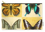 Four Butterfly Montage Carry-all Pouch