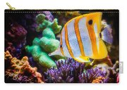 Butterfly Of The Sea Carry-all Pouch