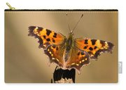 Butterfly On A Stick Carry-all Pouch