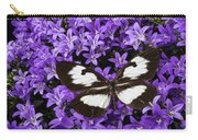 Butterfly On Campanula Get Mee Carry-all Pouch