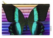 Butterfly On Colored Pencils Carry-all Pouch