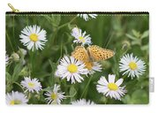 Butterfly On Fleabane Carry-all Pouch