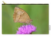 Butterfly On Knapweed Carry-all Pouch
