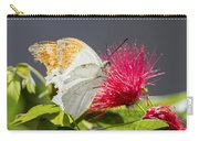 Butterfly On Magenta Flower Carry-all Pouch