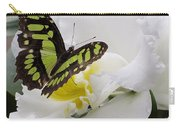 Butterfly On Orchid Carry-all Pouch