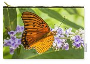 Butterfly On Purple Carry-all Pouch
