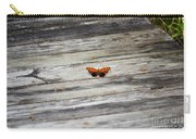 Butterfly On The Dock Carry-all Pouch