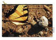 Butterfly On The Rocks Carry-all Pouch
