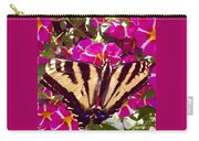 Swallowtail Butterfly Pink Carry-all Pouch