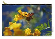 Butterfly Pollinating Flowers  Carry-all Pouch
