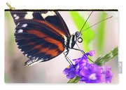 Butterfly Side Profile Carry-all Pouch by Garvin Hunter