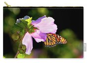 Butterfly Sunset Carry-all Pouch by Betty LaRue
