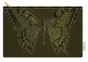 Butterfly Swallow Tail Carry-all Pouch