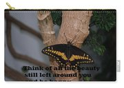 Butterfly Thing Of Beauty Carry-all Pouch