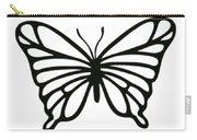Butterfly Trio  Carry-all Pouch