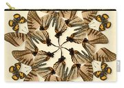 Butterfly Wheel Dance Carry-all Pouch